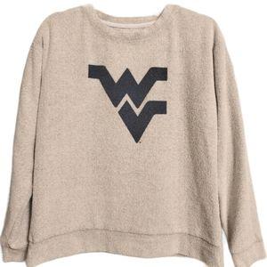 J America Light Grey Sweatshirt West Virginia